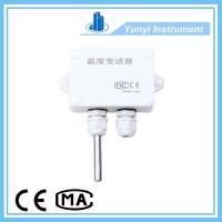 Temperature transmitter with 4-20ma or 0-5v output