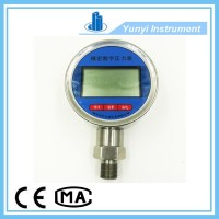 Stainless steel lcd digital pressure guage