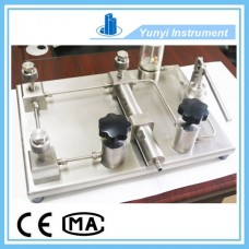 Stainless steel hydraulic pressure calibrator