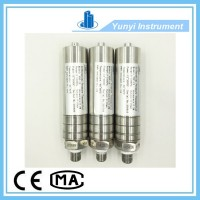 Low temperature pressure transmitter