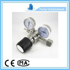 Single stage stainless steel pressure regulator